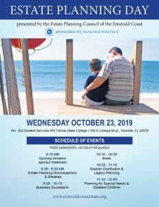 Estate Planning Day 2019 Poster